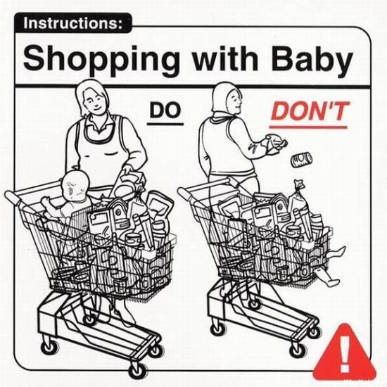 Grocery Cart Baby